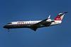"""OE-LRE Canadair Regional-Jet 100LR """"Lauda Air"""" c/n 7059 DusseldorF/EDDL/DUS 17-07-96 (35mm slide)"""