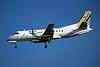 """F-GELG SAAB SF.340A """"Brit Air"""" c/n 081 Dusseldorf/EDDL/DUS 17-07-96 (35mm slide)"""
