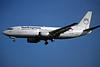 TC-SUP Boeing 737-3Y0 c/n 24908 Dusseldorf/EDDL/DUS 17-07-96 (35mm slide)