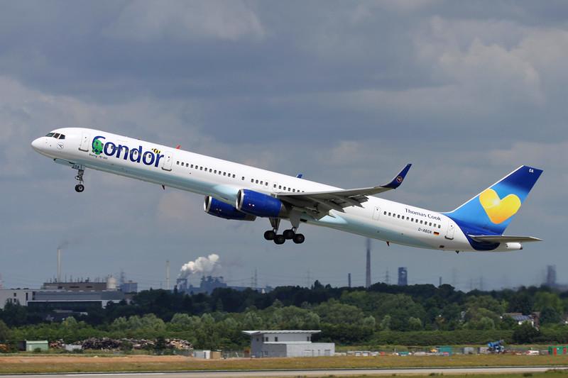 D-ABOA Boeing 757-330 c/n 29016 Dusseldorf/EDDL/DUS 22-06-14