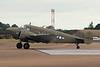 N45CF (436784) Beech G.18S c/n BA-466 Fairford/EGVA/FFD 22-07-19