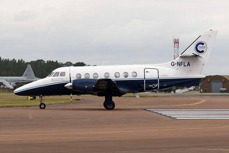 "G-NFLA British Aerospace Jetstream 31 ""Cranfield University"" c/n 637 Fairford/EGVA/FFD 22-07-19"