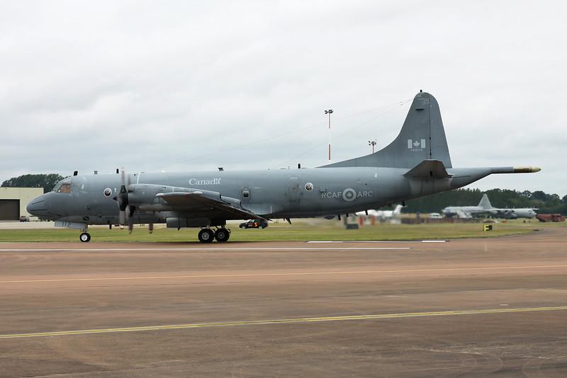 """140112 Lockheed CP-140 Aurora """"Royal Canadian Air Force"""" c/n 5715 Fairford/EGVA/FFD 22-07-19"""