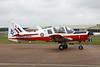 G-CBFP (XX636/Y) Scottish Aviation SA.120T.1 Bulldog c/n 306 Fairford/EGVA/FFD 22-07-19