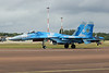 "39 blue Sukhoi Su-27P1M ""Ukraine Air Force"" c/n 35-18 Fairford/EGVA/FFD 22-07-19"