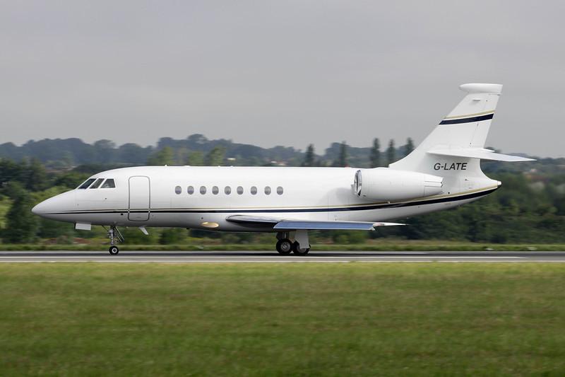 G-LATE Dassault Falcon 2000EX c/n 88 Luton/EGGW/LTN 19-07-11