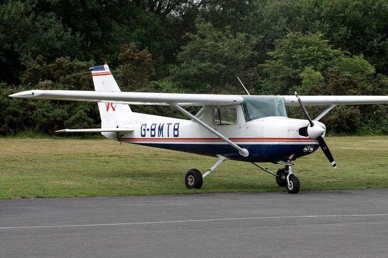 G-BMTB Cessna 152 c/n 152-80672 Blackbushe/EGLK/BBS 18-07-11