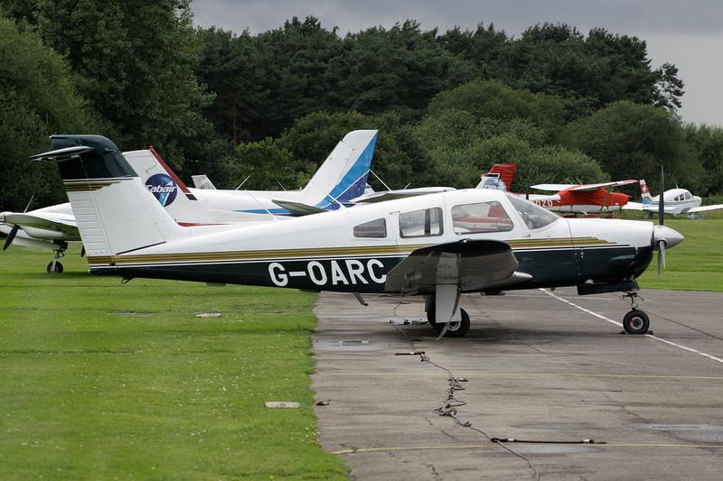 G-OARC Piper PA-28RT-201 Arrow IV c/n 28R-7918009 Elstree/EGTR/ETR 18-07-11