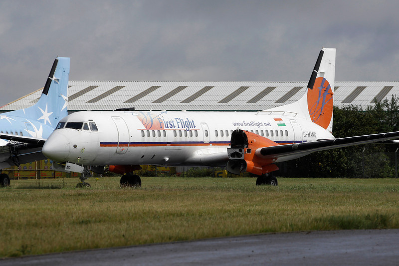 "G-MANC BAe ATP ""First Flight"" c/n 2054 Coventry/EGBE/CVT 17-07-11"