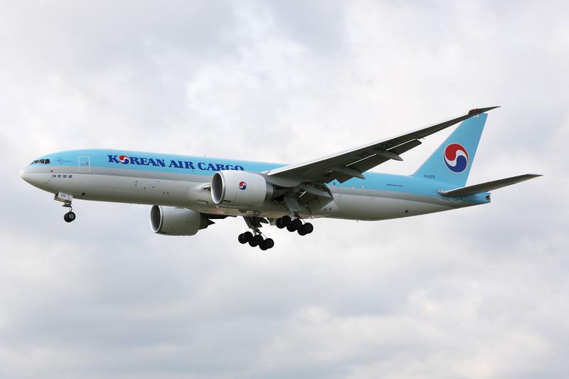 HL8251 Boeing 777-FB5 c/n 37639 Heathrow/EGLL/LHR 05-07-12