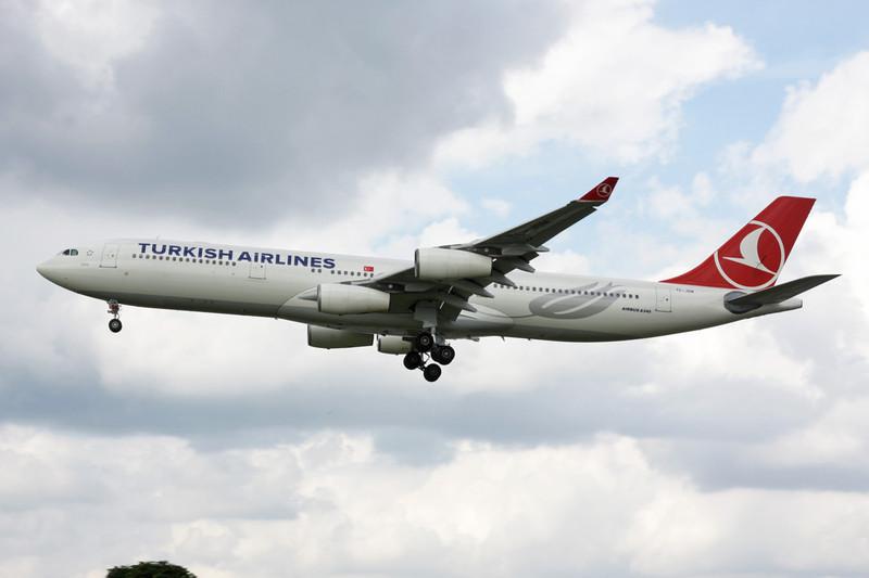 TC-JDM Airbus A340-311 c/n 115 Heathrow/EGLL/LHR 08-07-12