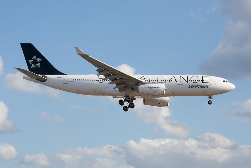 """SU-GCK Airbus A330-243 c/n 726 Heathrow/EGLL/LHR 17-07-10 """"Star Alliance"""""""
