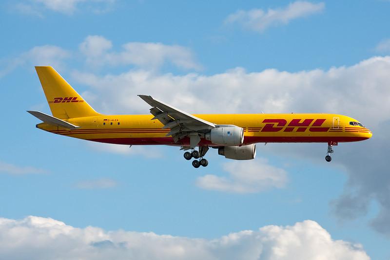 """D-ALEA Boeing 757-236F """"EAT Leipzig"""" c/n 22172 Heathrow/EGLL/LHR 17-07-10"""