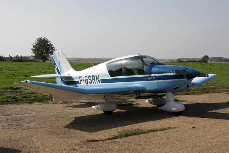 F-GSRN Robin DR.400-120 Petit Prince c/n 2396 St.Andre de l'Eure/LFFD 10-10-10