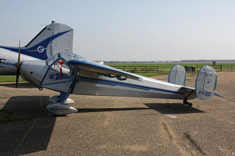F-PJDZ SNCAC NC.858S c/n 64 St.Andre de L'Eure/LFFD 10-10-10