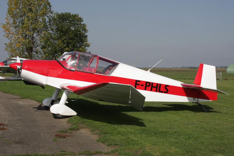 F-PHLS Jodel D.112 c/n 136 St.Andre de L'Eure/LFFD 10-10-10
