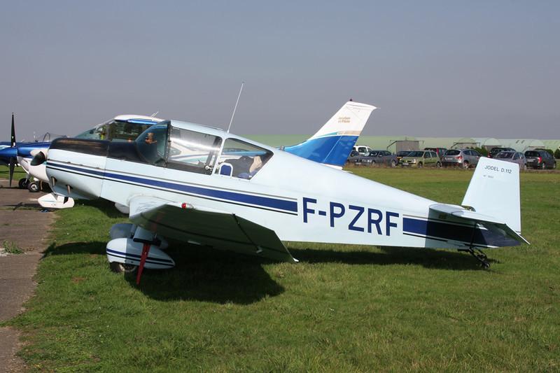 F-PZRF Jodel D.112 c/n 1602 St.Andre de L'Eure/LFFD 10-10-10