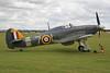 G-BKTH (7-L/Z7015) Hawker Sea Hurricane Ib c/n CCF/41H/4013 Duxford/EGSU 12-07-09