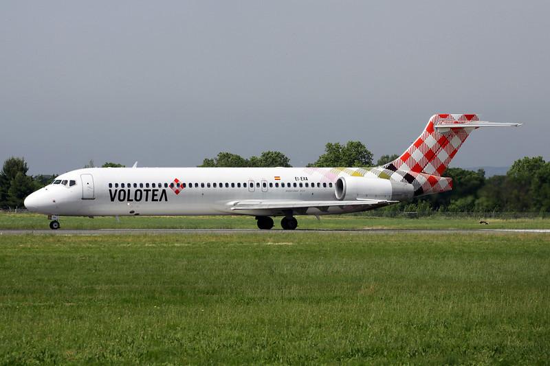 """EI-EXA Boeing 717-2BL """"Volotea Airlines"""" c/n 55172 Montpellier-Mediterranee/LFMT/MPL 17-06-13"""