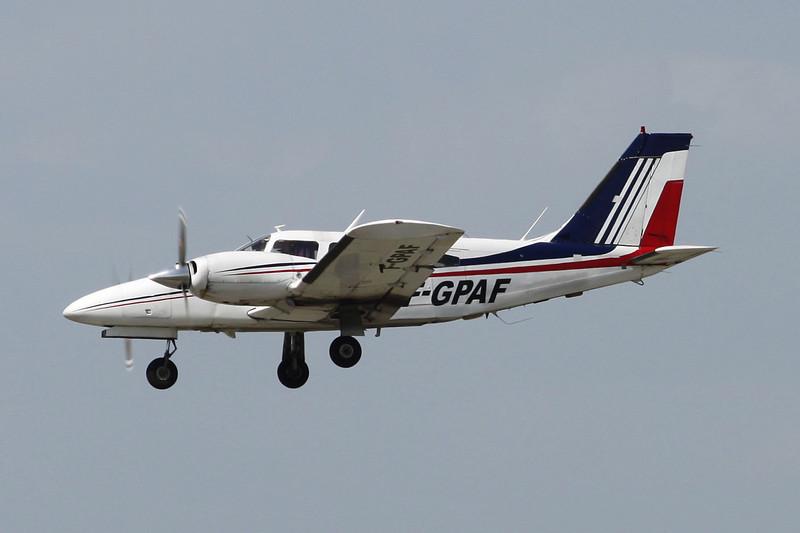 F-GPAF Piper PA-34-200T Seneca II c/n 34-7670005 Montpellier-Mediterranee/LFMT/MPL 17-06-13