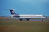 """EW-65106 Tupolev Tu-134A-3 """"Belavia Belarussian Airlines"""" c/n 60315 Frankfurt/EDDF/FRA 08-06-97 (35mm slide)"""