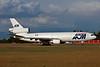 "F-ODLZ Douglas DC-10-30 ""AOM French Airlines"" c/n 46869 Frankfurt/EDDF/FRA 08-06-97 (35mm slide)"