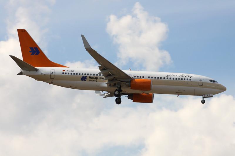 "D-AHLK Boeing 737-8K5 c/n 35143 Frankfurt/EDDF/FRA 26-06-14 ""Kreuzfahrten"""