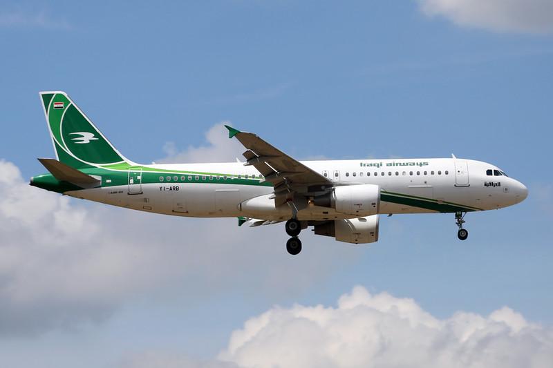 """YI-ARB Airbus A320-214 """" Iraqi Airways"""" c/n 5290 Frankfurt/EDDF/FRA 26-06-14"""