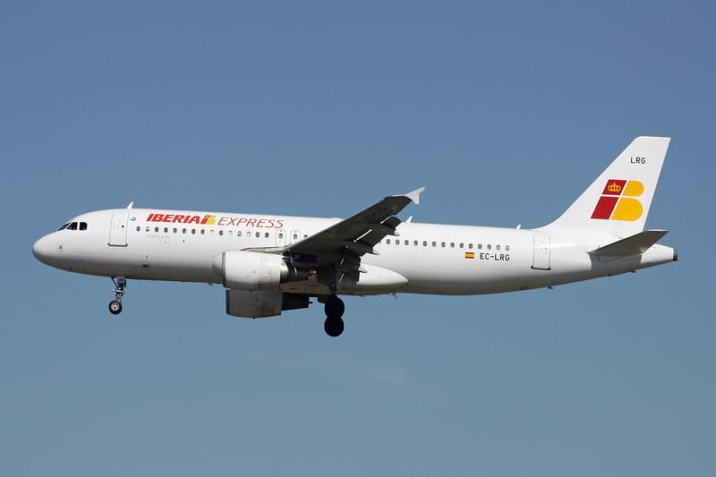 "EC-LRG Airbus A320-214 ""Iberia Express"" c/n 1516 Frankfurt/EDDF/FRA 14-04-13"