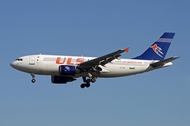 """TC-LER Airbus A310-308F """"ULS Cargo"""" c/n 646 Frankfurt/EDDF/FRA 15-04-13"""