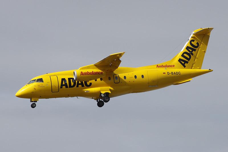 "D-BADC Dornier Do.328JET-310 ""ADAC"" c/n 3216 Frankfurt/EDDF/FRA 14-04-13"