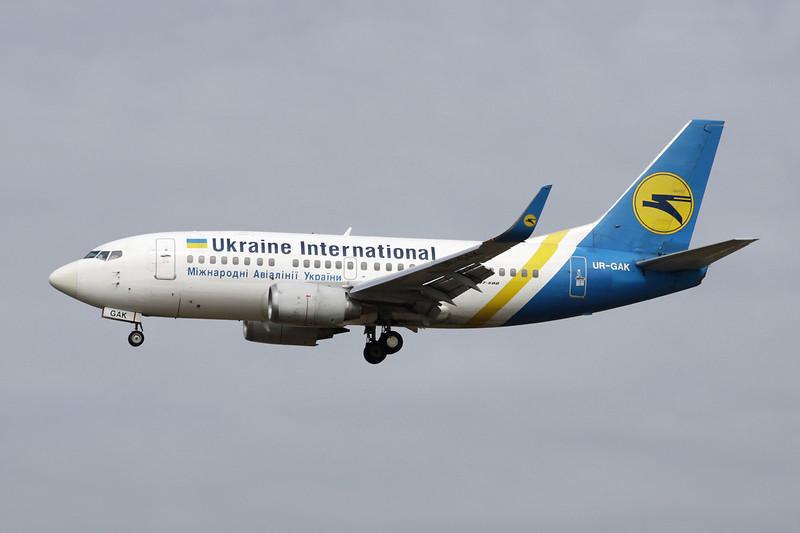 UR-GAK Boeing 737-5Y0(wl) c/n 26075 Frankfurt/EDDF/FRA 14-04-13
