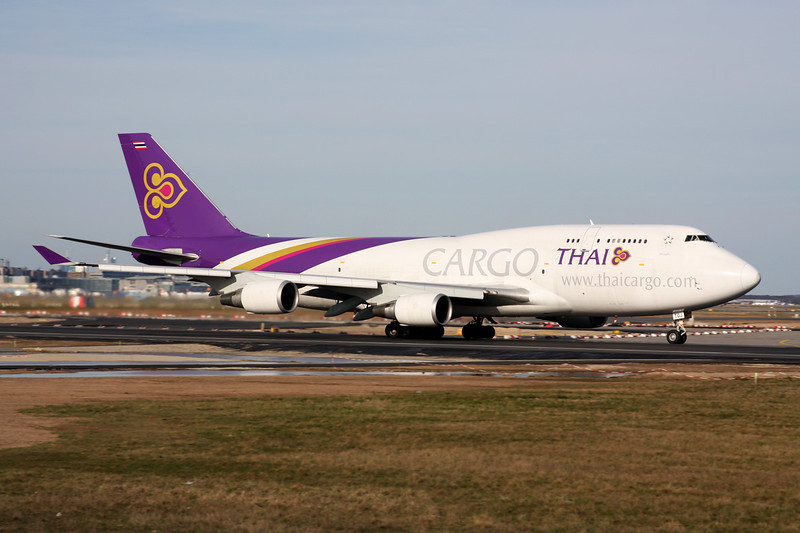 HS-TGJ Boeing 747-4D7BCF c/n 24459 Frankfurt/EDDF/FRA 14-04-13
