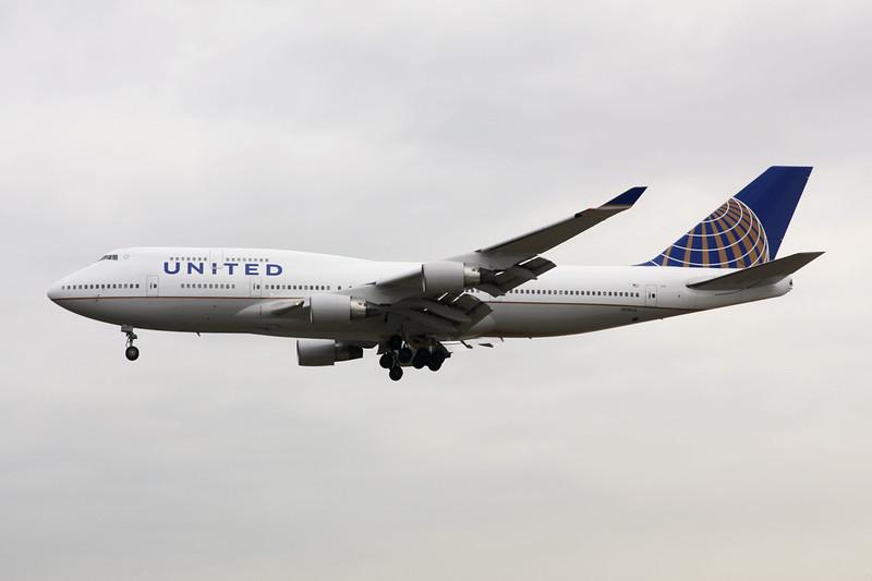 N118UA Boeing 747-422 c/n 28811 Frankfurt/EDDF/FRA 14-04-13