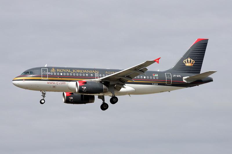 JY-AYL Airbus A319-132 c/n 3428 Frankfurt/EDDF/FRA 14-04-13