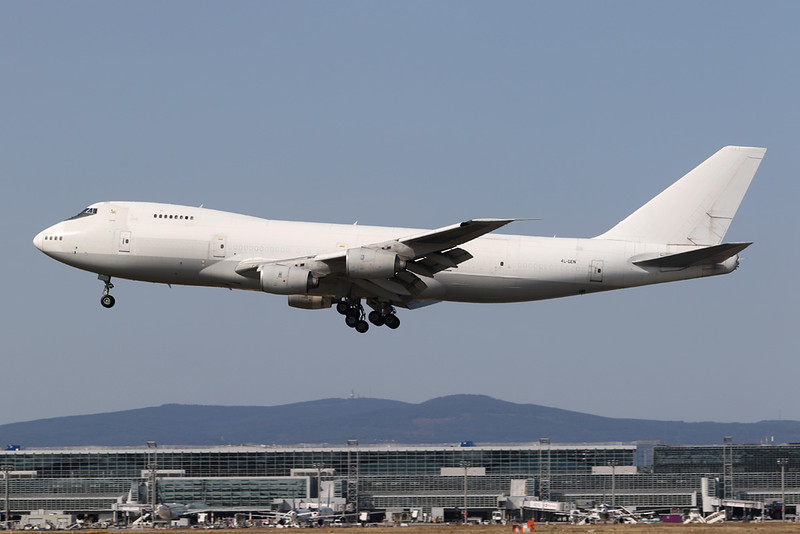 "4L-GEO Boeing 747-236BF ""The Cargo Airline"" c/n 23711 Frankfurt/EDDF/FRA 11-09-20"
