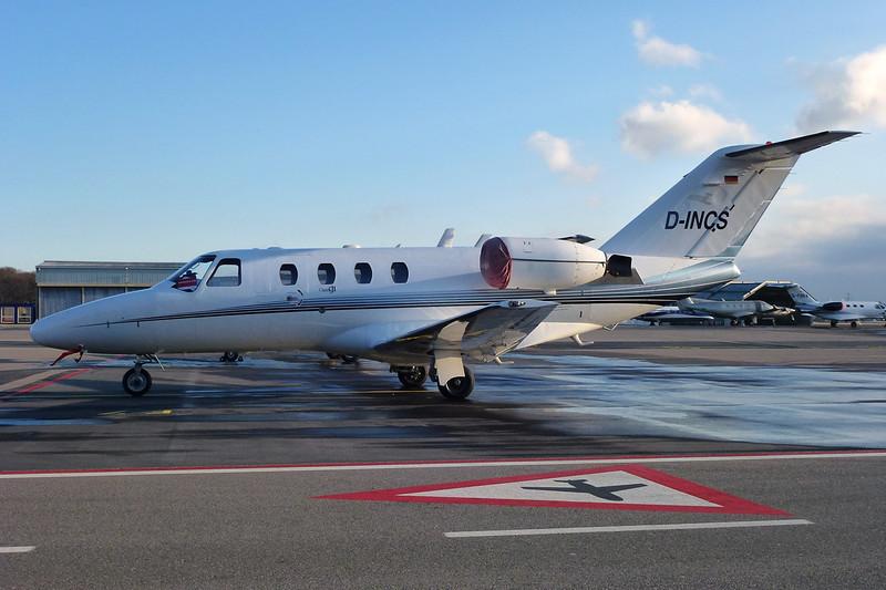 D-INCS Cessna 525 Citation Jet I c/n 525-0466 Geneva/LSGG/GVA 14-01-12