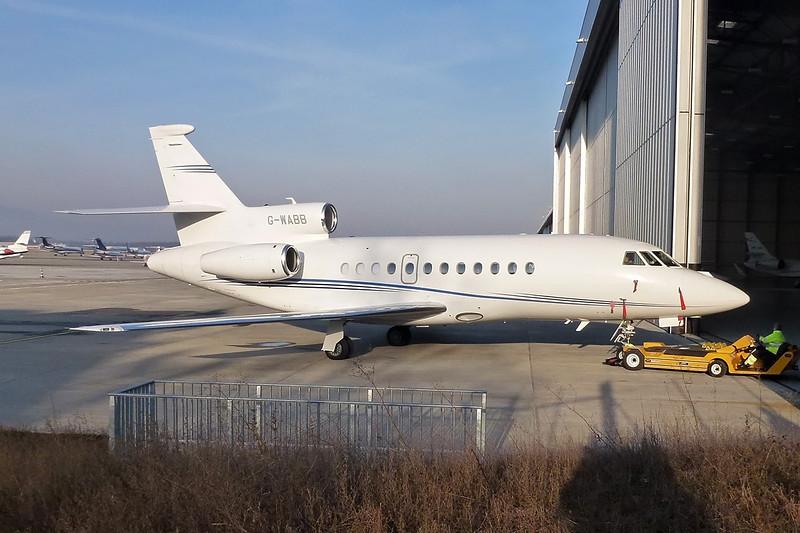 G-WABB Dassault Falcon 900EX EASy c/n 232 Geneva/LSGG/GVA 18-01-12