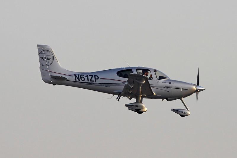 N61ZP Cirrus Design SR-22 GTS Turbo c/n 3411 Geneva/LSGG/GVA 18-01-12