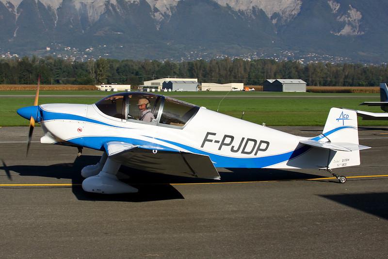 F-PJDP Jodel D.113 c/n 1803 Grenoble-Le Versoud/LFLG 06-10-12