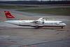 """G-BWDA Aerospatiale ATR-72-202 """"Gill Airways"""" c/n 444 Hamburg-Fuhlsbuttel/EDDH/HAM 10-09-95 (35mm slide)"""