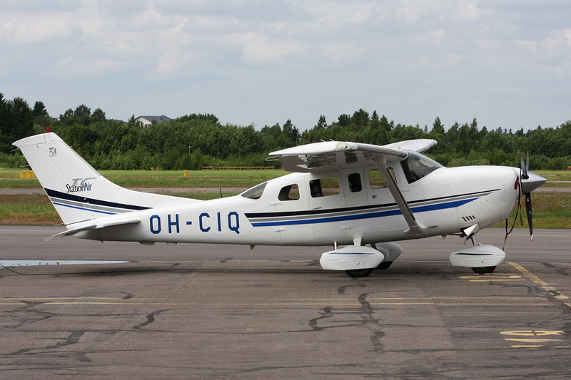 OH-CIQ Cessna T.206H Turbo Stationair c/n T206-08276 Helsinki-Malmi/EFHF/HEM 19-06-11