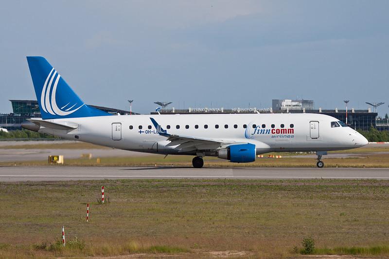 """OH-LEI Embraer Emb-170-100ST """"Finncomm Airlines"""" c/n 17000127 Helsinki-Vantaa/EFHK/HEL 20-06-11"""