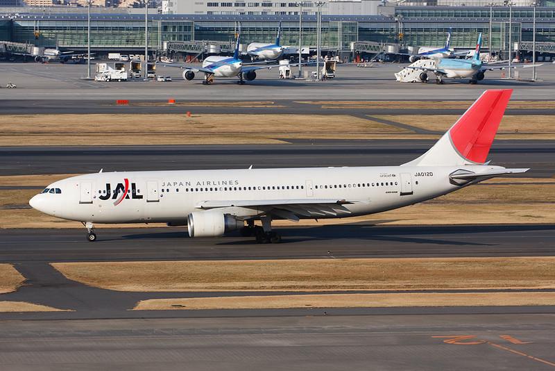 JA012D Airbus A300B4-622R c/n 797 Tokyo-Haneda/RJTT/HND 26-02-11