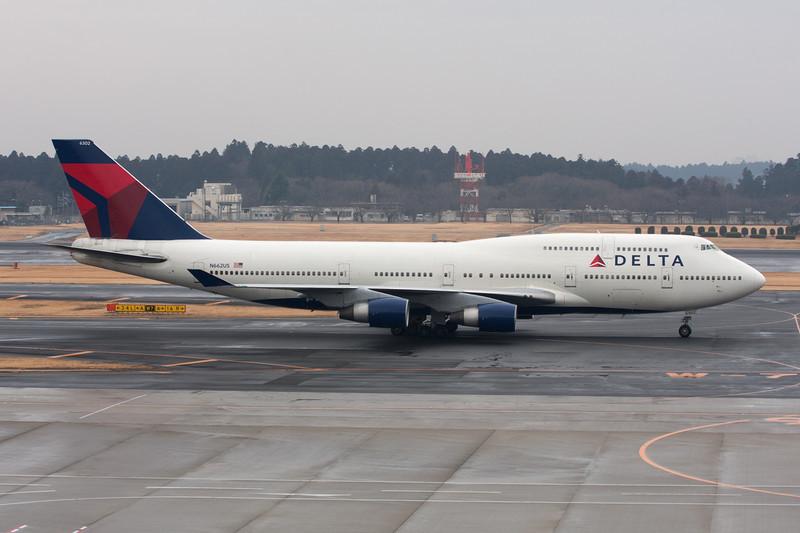 N662US Boeing 747-451 c/n 23720 Tokyo-Narita/RJAA/NRT 24-02-11