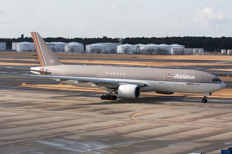 HL7742 Boeing 777-28EER c/n 29171 Tokyo-Narita/RJAA/NRT 25-02-11