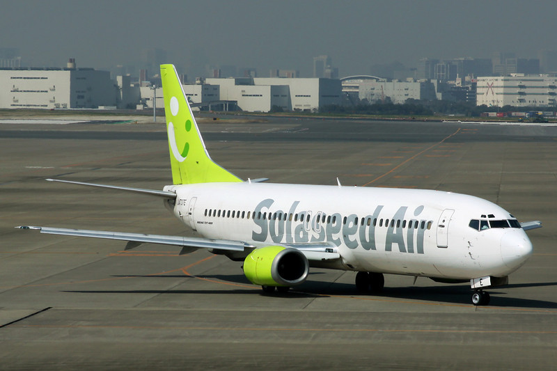 JA737E Boeing 737-4YO c/n 26069 Tokyo-Haneda/RJTT/HND 09-03-13