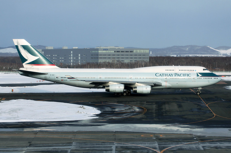 B-HUF Boeing 747-467 c/n 25869 Sapporo-New Chitose/RJCC/CTS 16-03-13