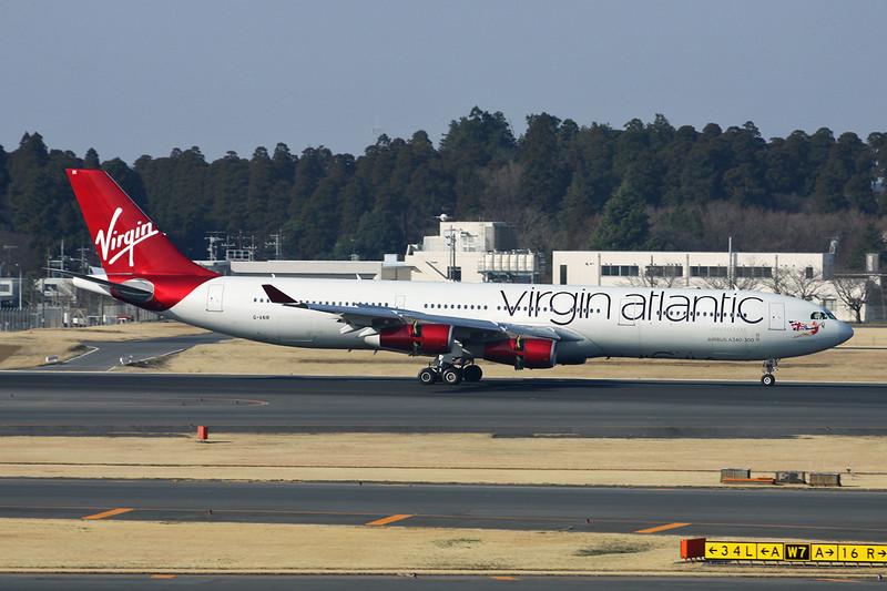 G-VAIR Airbus A340-313X c/n 164 Tokyo-Narita/RJAA/NRT 17-03-13