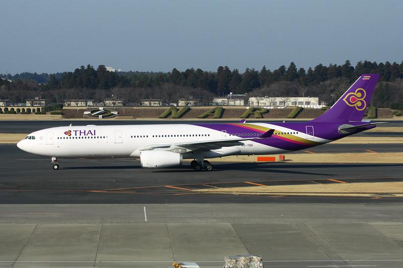 HS-TBD Airbus A330-343X c/b 1338 Tokyo-Narita/RJAA/NRT 17-03-13